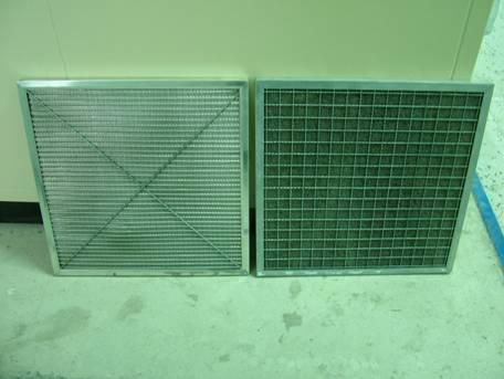 美的空调内部结构图滤网里面那个东西是什么