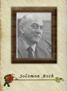 solomon asch The solomon asch center was created in 1998 to advance research, education, practice, and policy-relevant study in ethnic group conflict and political violence.